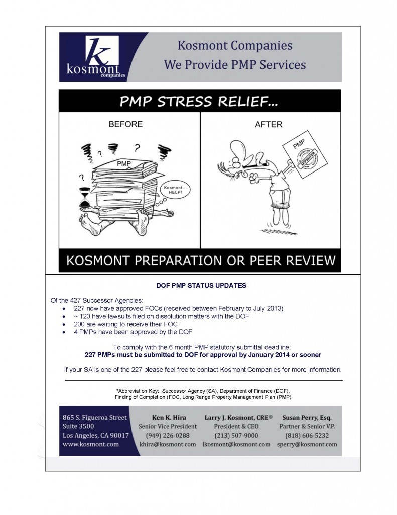 PMP Stress Relief - Bulletin 120 Days Out