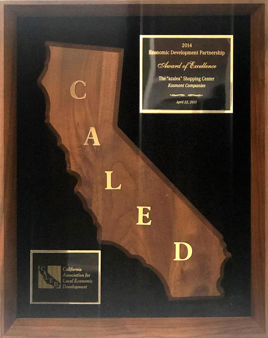 CALED Azalea Award